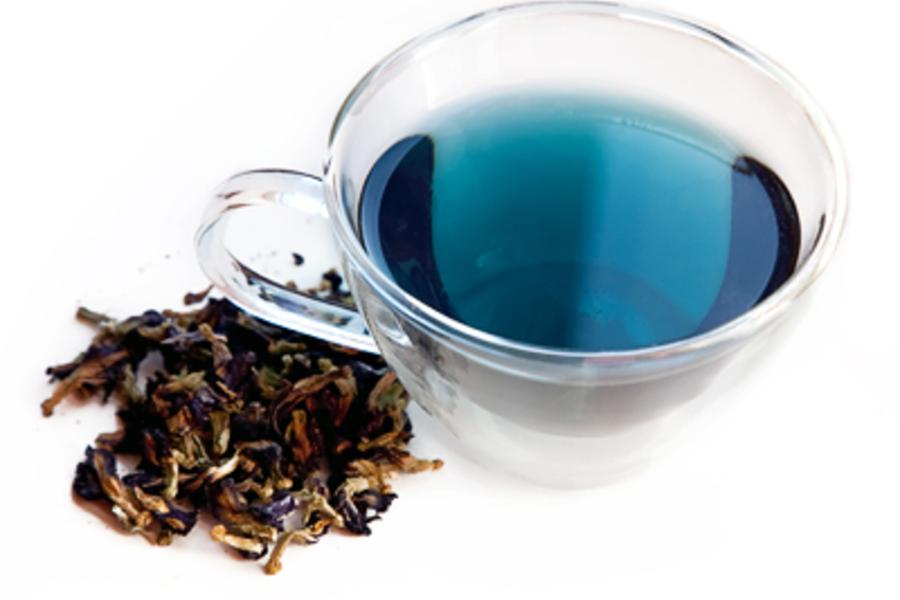 синий горошек чай